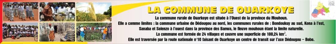 OUARKOYE – Bienvenue sur le Portail Web de la commune
